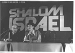 Rally on behalf of refuseniks.Speaker � Silva Zalmanson. Paris, May 7, 1978.