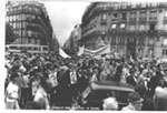 Demonstration on behalf of refuseniks.Paris, June 16, 1980.
