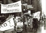 Demonstration of SSSJ in Montreal, Canada. 1980.