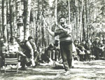Summer gathering in Ovrazhki, 1979.