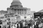 Freedom Assembly for Soviet Jewry, Washington, DC. June, 1973.